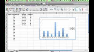 how to make a histogram in excel how to make a histogram in microsoft excel 2011