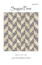 377 best blue and white images on Pinterest   Blue and white ... & Sugar Pine Pattern - Shop online for all your quilting supplies at… Adamdwight.com
