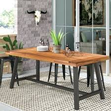 faux wood outdoor dining table wayfair outdoor dining table wood outdoor dining table reclaimed wood