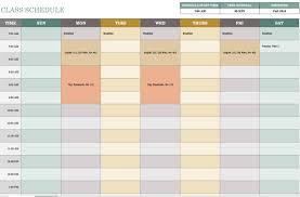 Calendar Scheduler Template Free Weekly Schedule Templates For Excel Smartsheet