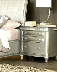 black faux leather nightstand white 3 wer with brass dresser