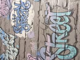 Bolcom Graffiti Grijze Stenen Muur