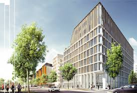 green office building. Fine Building Green Office Link  Lyon On Office Building A
