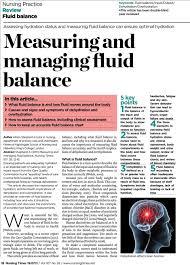 Measuring And Managing Fluid Balance Pdf Free Download