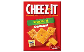 cheez it reduced fat original baked snack ers