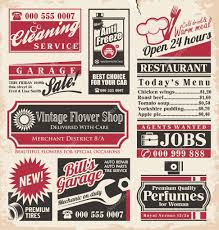 1960s Newspaper Template 1950s Magazine Advertisements Retro Newspaper Ads Design
