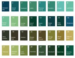 55 Studious Paint Colour Chart With Names