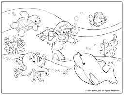 Small Picture Summer Color Pages Free coloring pages Ocean for kids topics