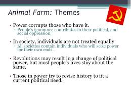 Essay On Animal Farm By George Orwell The Negative Results Of Ignorance In Animal Farm A Novel By George