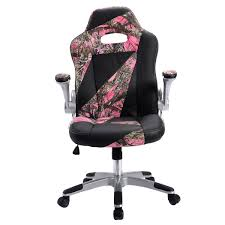 executive computer chair. PU Leather High Back Executive Office Desk Task Computer Chair Pink Camo - Chairs Furniture