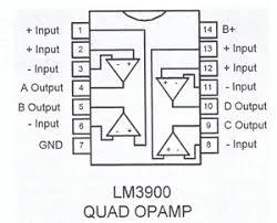 3 channel audio mixer circuit Mixer Circuit Diagrams lm3900 ping designations diagram 1 0 shows the 3 channel sound mixer circuit