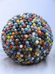Decorative Marble Balls How to Makre Decorative Garden Art Balls Garden art Soccer ball 11