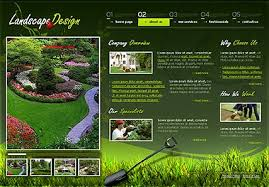 Small Picture Garden Design Template on Landscape Design Flash Template Best