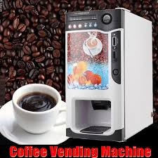 Coin Operated Tea Coffee Vending Machine Simple 48 HOT DRINKS48 Cold Drinks Instant Coin Operated Tea Coffee Vending