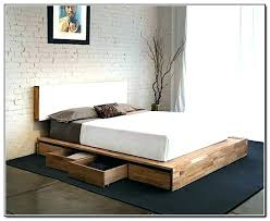 ikea platform bed with storage. Interesting Platform Natural Wooden Ikea Platform Bed With Storage Ideas On Ikea Platform Bed With Storage