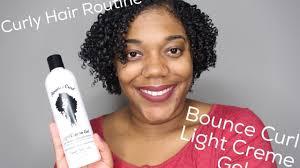 Bounce Cream Light Creme Gel Soft Bouncy Curls Ft Bounce Curl Light Cream Gel