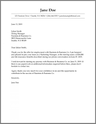 Employment Acceptance Letter How To Write A Job Acceptance Letter Samples