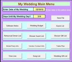 wedding spreadsheet diy budget cheap wedding planner planning organizer work book easy