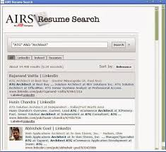 AIRS Free Resume Search