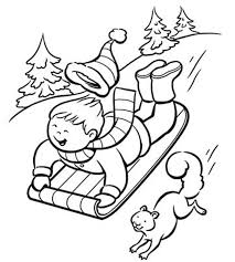 Small Picture Winter Kids Coloring Pages Free Winter Coloring Pages Ice