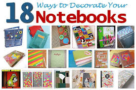 image decorate. 18 Ways To Decorate Your Notebooks Image