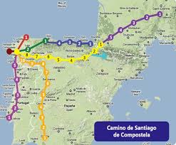 camino pilgrimage to spain suntravel world Camino De Santiago Map map camino de santiago camino de santiago mapa