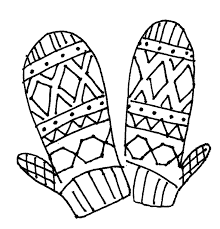 Small Picture Mitten Coloring Pages GetColoringPagescom