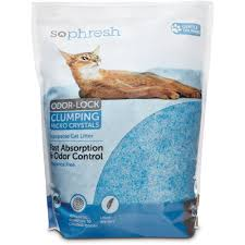 image cat litter. So Phresh Scoopable Odor-Lock Clumping Micro Crystal Cat Litter In Blue  Silica | Petco Image Cat Litter
