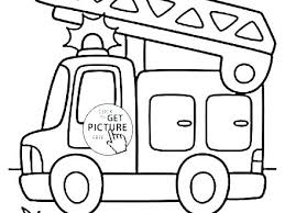 Fire Safety Coloring Pages To Print E Coloring Fire Truck Coloring