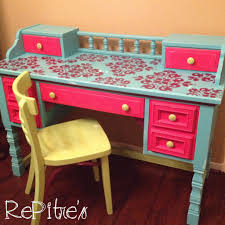 Centsational girl painting furniture Chalk Paint Centsational Girl Blog Archive Lavender Blue Room Kids Painted Furniture Girls Desk And Distressed Fresh American Style Annie Selke Bathroom Kids Painted Furniture Chalk Paint On Old Ikea Kids Table