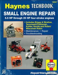 Haynes Small Engine Repair Haynes Techbook 5.5 HP through 20 HP
