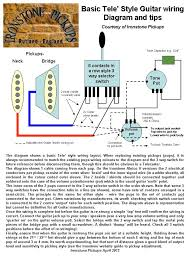 telecaster wiring diagram ironstone electric guitar pickups telecaster wiring diagram