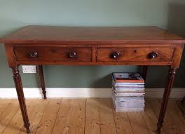retro hall table. Vintage Antique Retro Hall Table Console