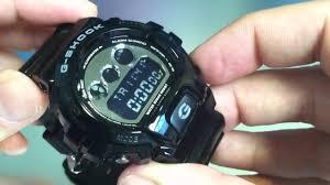 G Shock 3230 Auto Light Casio G Shock Dw 6900 Mirror Metallic Watch Dw6900nb 1