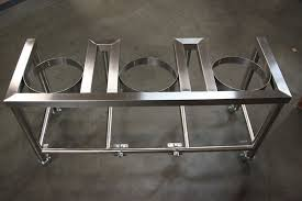 the brew stand single tier stainless steel brew stand