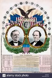 election of 1876 national democratic chart 1876 presidential election for stock