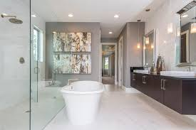 recessed lighting bathroom. Orlando Gray Color Combinations With Contemporary Pendant Lights Bathroom Transitional And Recessed Lighting I
