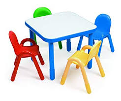 preschool table and chair set. Brilliant Chair Angeles Preschool Table U0026 Chair Set ROYAL BLUE On And O