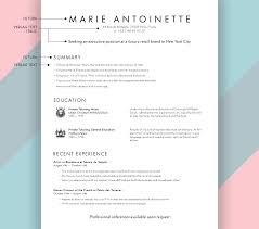 Resume Cv Cover Letter Unique Floral Resume By Ambersoup On Etsy