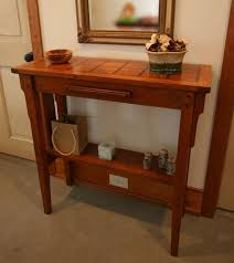 Craftsman Style Coffee Table Arts And Crafts Hall Table Plans Craft