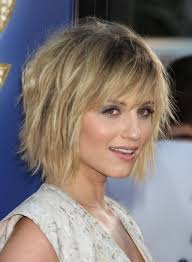Short Layer Hair Style short layered hairstyles with fringe women medium haircut 1313 by wearticles.com