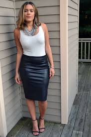 most demanded clothing by women leather skirt