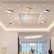 39 Teilepaket Sternform 3d Acryl Wandaufkleber Wohnzimmer