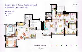 FRIENDS Apartments Floorplan (Old version) by nikneuk ...