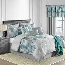 full size of bathroom claire piece comforter set in teal bed bath beyond gray and sets