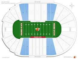 Bulldog Stadium Red Seats Football Seating Rateyourseats Com