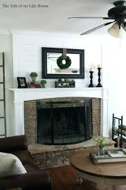 wall decor above fireplace fire place corner ideas winter mantel purple decorating design art mantel decor ideas for above