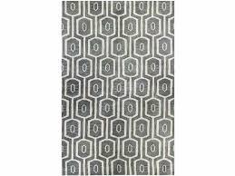 toms rugs gray geometric rug blue