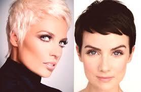 Kadeřnické účesy Pro Krátké Vlasy 2019 Fotografie ženské Trendy