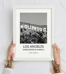 We are your one stop sign shop for wall decals, stickers, wall murals & more! Los Angeles Hollywood Sign Print Black And White Wall Art Decor Poster Gift 3 95 Picclick Uk